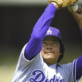 Fernando Valenzuela outpitches Vern Ruhle in a 2-1 decision in Los Angeles