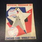 1964 Chicago Cubs Wrigley Field Billy Williams Multi Signed Program