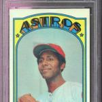 1972 Topps #20 Don Wilson Houston Astros NM-MT PSA 8 Graded Baseball Card