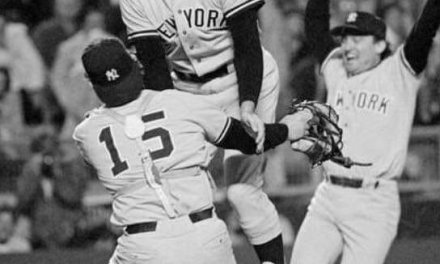 The Yankees trade southpaws Sparky Lyle, the 1977 Cy Young Award recipient in a 10 player deal