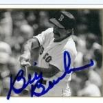 Bill Buckner autographed Baseball Card (Boston Red Sox Chicago Cubs) 1993 Upper Deck All Time Heroes #20
