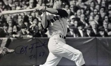 Carl Yastrzemski hits for the cycle against the Detroit Tigers