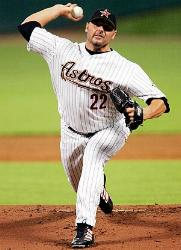 2004 – Roger Clemens cools off the Cardinal bats with seven innings of four-hit ball as the Astros win Game Three of the N.L.C.S., 5-2. Jeff Kent homers in the opening frame and Houston nurses a 3-2 advantage until Carlos Beltran and Lance Berkman drill solo shots to give the bullpen some breathing room . St. Louis still leads the best-of-seven series, 2-1.