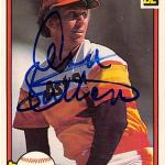 Don Sutton autographed baseball card (Houston Astros) 1982 Donruss #443
