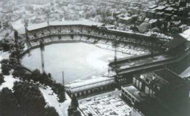 The Pirates threaten to move the franchise from Pittsburgh unless a new municipal stadium is built to replace the 47 year-old Forbes Field. The second division club drew 949,878 fans, the fifth-best total of the eight National League teams.