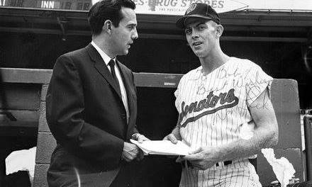 Washington Senators play the first game in franchise history