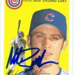 Mark Bellhorn autographed baseball card (Chicago Cubs SC) 2003 Topps Heritage #161