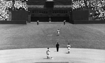 New York Giants played their final game at the Polo Grounds