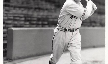 Ralph Kiner of the Pittsburgh Pirates becomes the first player to lead the National League in home runs for seven consecutive seasons