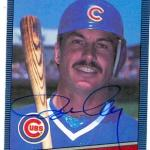 Ron Cey autographed baseball card (Chicago Cubs) 1986 Donruss #198 (67)