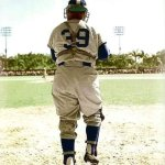 Roy Campanella makes his debut with Brooklyn Dodgers