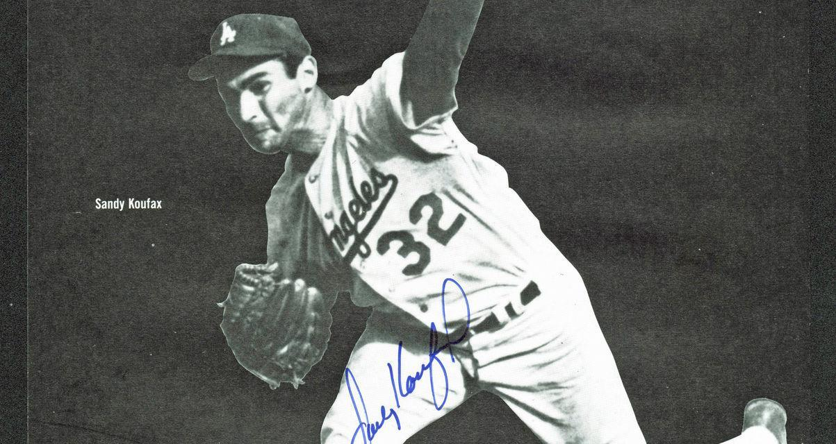 Hall of Famer Sandy Koufax is born in Brooklyn, New York