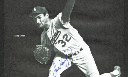 Sandy Koufax pitches his first no-hitter vs New York Mets