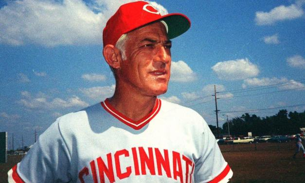Cincinnati Reds fire long-time manager Sparky Anderson, who had led the team to five division titles, four pennants, and two World Championships.