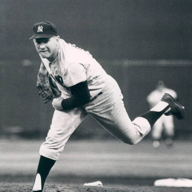 The winningest pitcher in franchise history is honored by the Yankees during Whitey Ford Day ceremonies at Yankee Stadium. The crafty lefty holds the team record for victories (236), innings pitched (3,170 1/3), strikeouts (1,956), and shutouts (45).