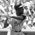 Hank Aaron hits his 399th and 400th home runs to lead the Atlanta Braves to a victory, 8 – 1