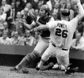 Bogg Powell drives in 11 vs A's in Double Header