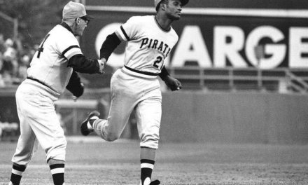 Future Hall of Famer Roberto Clemente misses the first day of spring training because of a bout with malaria