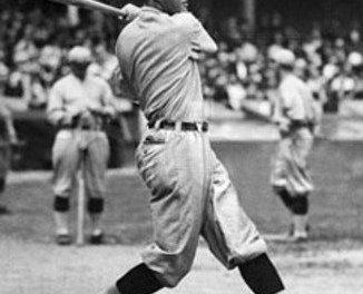 Rogers Hornsby of the St. Louis Cardinals reaches the .400 mark