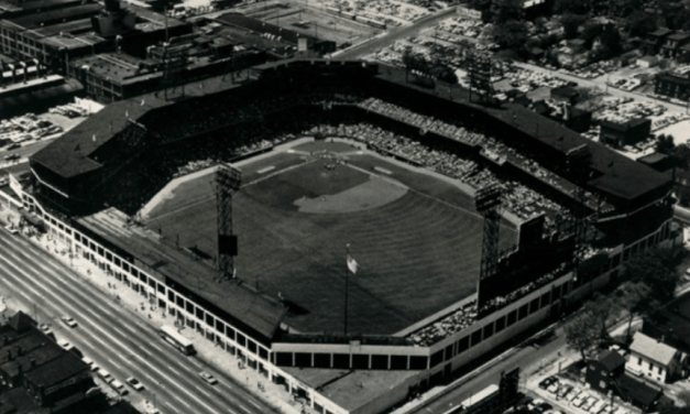 The St. Louis Browns, owners of Sportsman's Park, move to evict the St. Louis Cardinals in order to gain a rent increase.