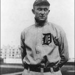Ty Cobb signs with the Detroit Tigers for $4,000 plus an $800 bonus if he hits over .300. He will collect the bonus with a league-leading .324 average, becoming one of only three American League regulars to top .300 this year - the National League will have five.