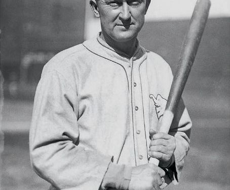 "Bob ""Fats"" Fothergill becomes the first – and only – man to pinch-hit for the legendary Ty Cobb"