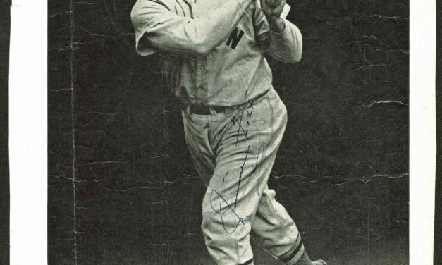 Jimmie Foxx hits the longest home run in the history of Comiskey Park