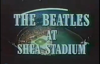 The Beatles play at Shea