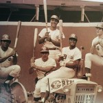 The Big Red Machine... Bobby Tolan, Johnny Bench, Tony Perez, Lee May and Pete Rose