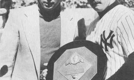 Yankee catcher Thurman Munson wins 1976 AL Most Valuable Player