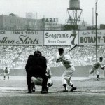 Mickey Mantle at Yankee Stadium