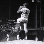 Johnny Edwardstakes Ferguson Jenkins deep to stop the Cubs, 3-2, in eleven innings
