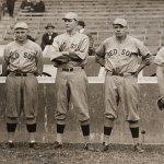 Rube Foster, Carl Mays, Ernie Shore, Babe Ruth, and Dutch Leonard