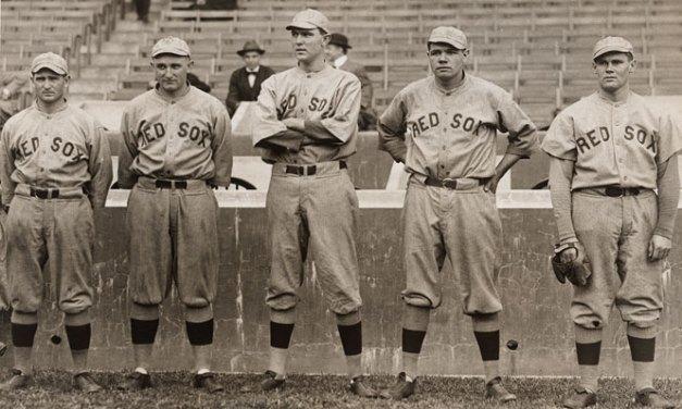 1916 Boston Red Sox Pitching Staff