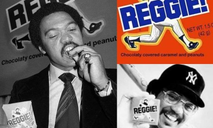 The Reggie candy bar is introduced