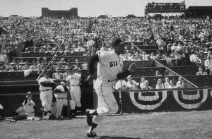 Willie Mays hit the most home runs at San Francisco's Seals Stadium (32), followed by Orlando Cepeda (26), Leon Wagner (13), Willie Kirkland (12), and Daryl Spencer (11).