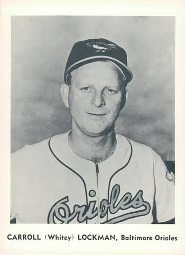 Baltimore Orioles buy Whitey Lockman