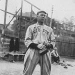 Hick Cady at spring training in Hot Springs, Arkansas - 1914.