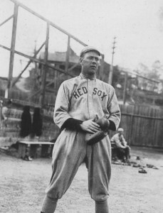 Hick Cady at spring training in Hot Springs, Arkansas - 1914.