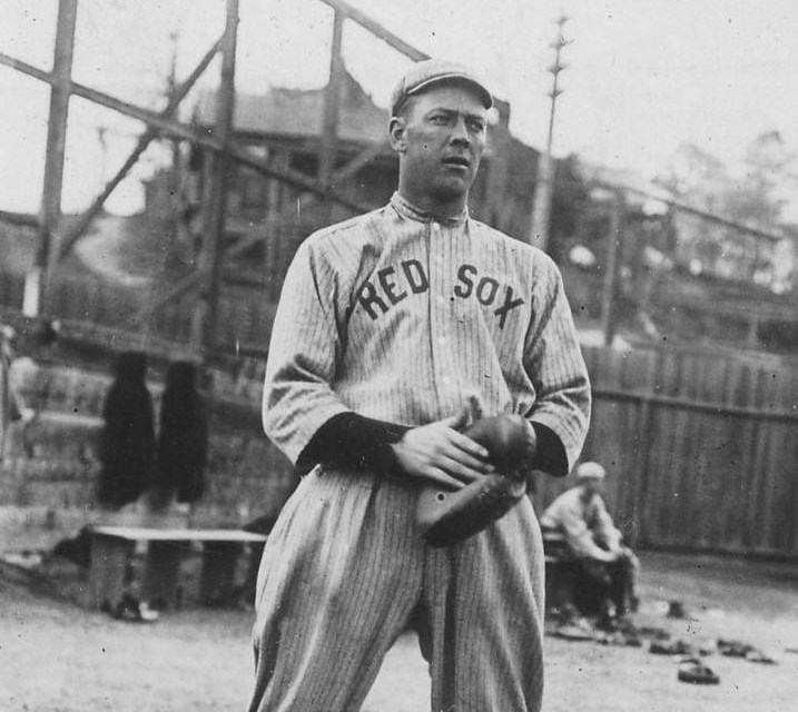 Hick Cady at spring training in Hot Springs, Arkansas – 1914.