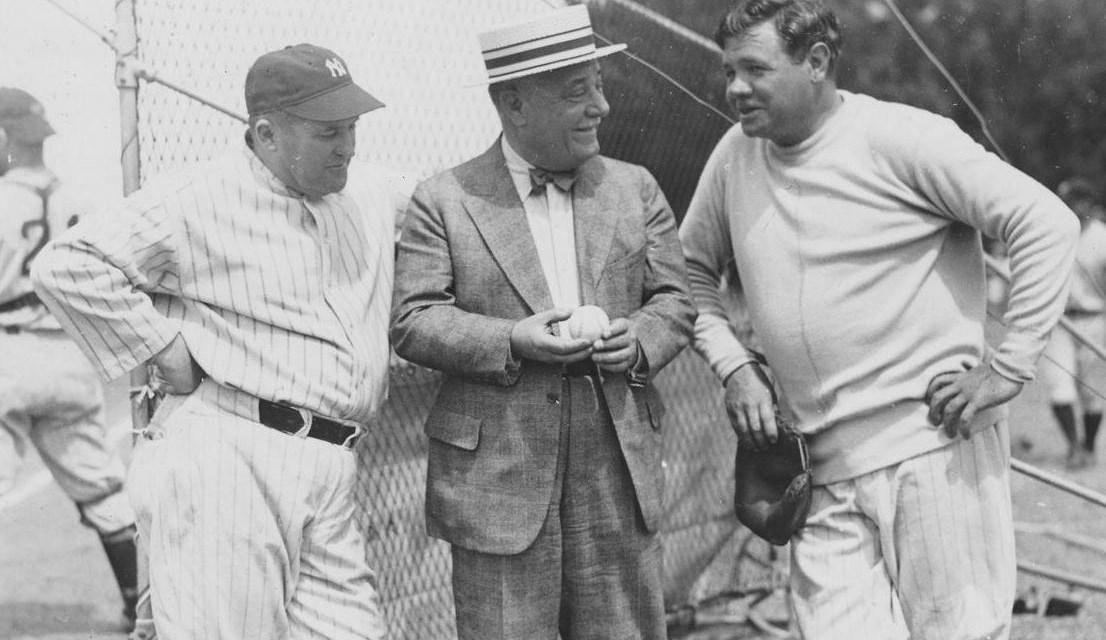 Spring training 1932 Babe Ruth