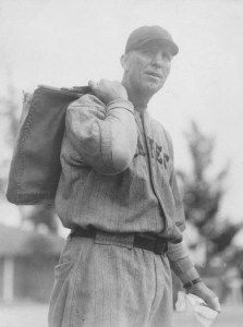 Hank Gowdy, Boston Braves Coach at spring training in St. Petersburg, Florida - 1929.