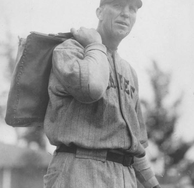 Hank Gowdy, Boston Braves Coach at spring training in St. Petersburg, Florida – 1929