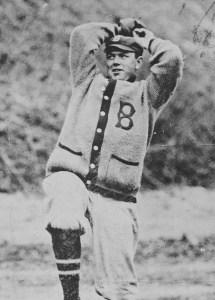 Nap Rucker at spring training in Hot Springs, Arkansas - 1910.
