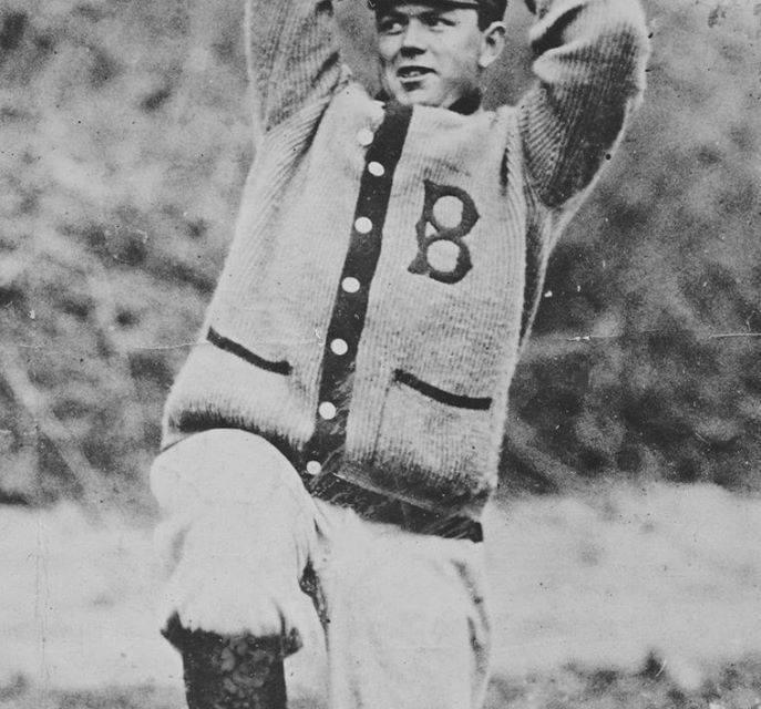 Nap Rucker at spring training in Hot Springs, Arkansas – 1910.