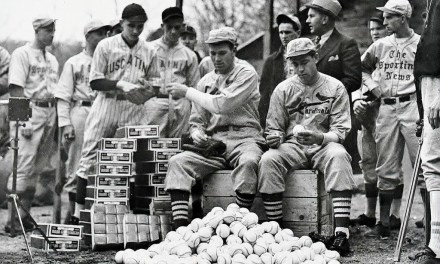 Dizzy Dean and Paul Dean. Ray Doan's All-Star Baseball School at spring training in Hot Springs, Arkansas – 1935
