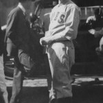 Grover Cleveland Alexander at spring training in Pasadena, California - 1919.