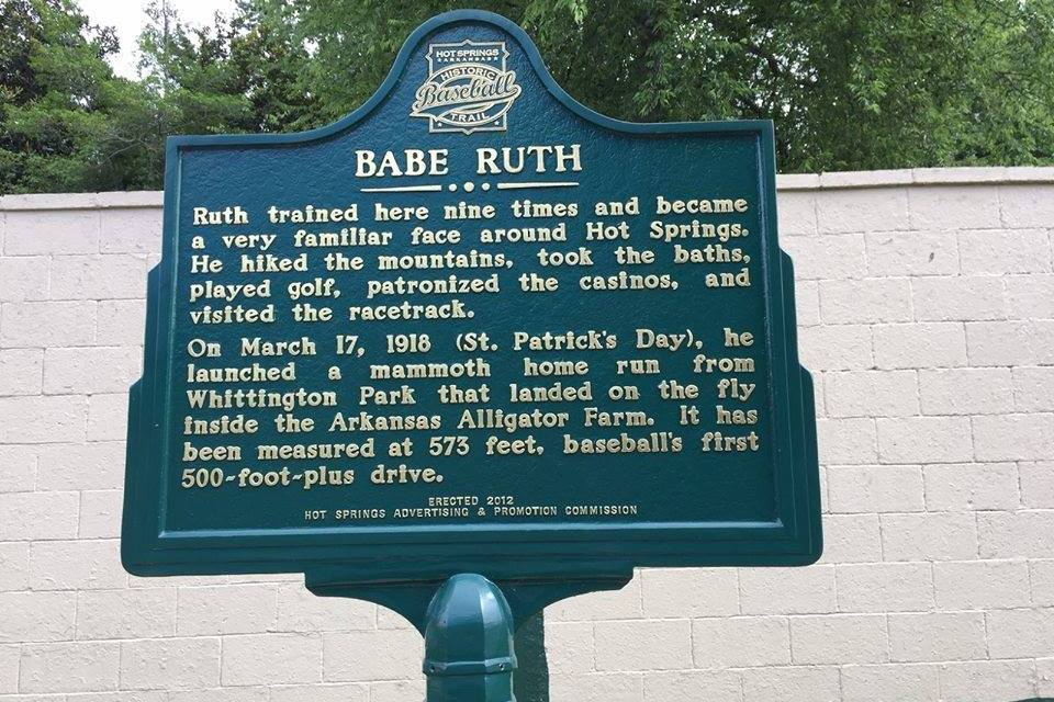 Babe Ruth Launches 570 foot Homerun