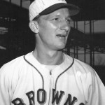 April 10, 1950 - Due to a salary dispute, St. Louis Browns pitcher Al Widmar quits the team and threatens to sue baseball. Widmar will sign a contract within the week.
