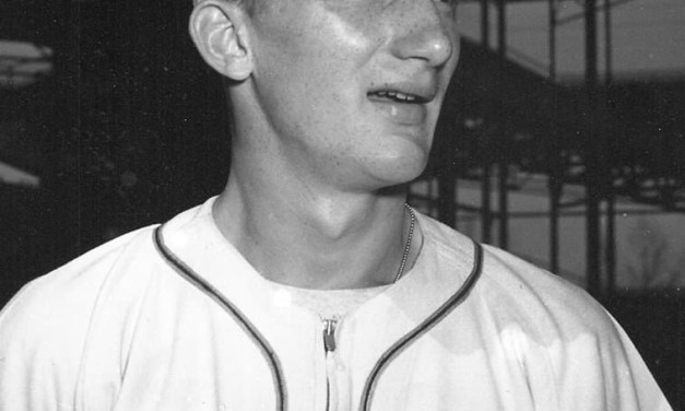 April 10, 1950 – Due to a salary dispute, St. Louis Browns pitcher Al Widmar quits the team and threatens to sue baseball. Widmar will sign a contract within the week.
